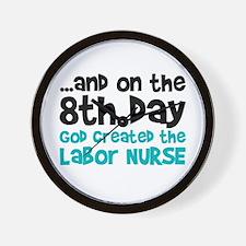 Labor Nurse Creation Wall Clock