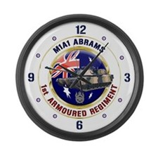 M1A1 Abrams Australia Large Wall Clock
