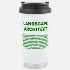 Cute Urban landscape Travel Mug