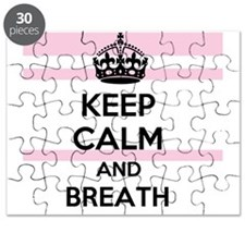 Keep Calm and Breath Puzzle