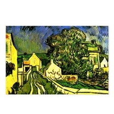 Van Gogh - House of Pere  Postcards (Package of 8)