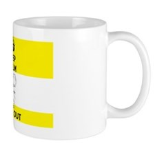 Keep Calm and Chill Out Ketamine Yellow Mug
