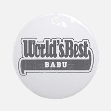 WB Grandpa [Swahili] Ornament (Round)