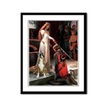 The Accolade & Boxer Framed Panel Print