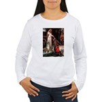 The Accolade & Boxer Women's Long Sleeve T-Shirt