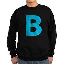 Letter B Blue Sweatshirt