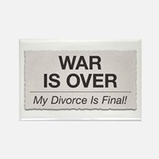 War Is Over Rectangle Magnet