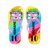 10th birthday Flip Flops
