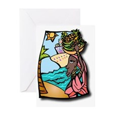 Cruise, travel, ship, vacation, ocea Greeting Card