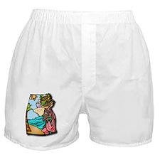 Cruise, travel, ship, vacation, ocean Boxer Shorts