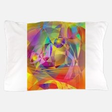 Abstract Banana Pillow Case