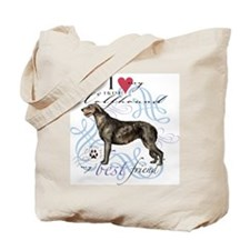 Irish Wolfhound Tote Bag