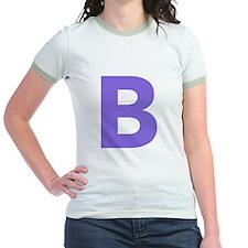 Letter B Purple T-Shirt