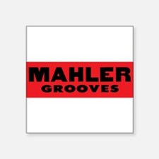 MahlerGroovesnNEW Sticker
