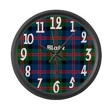 Blair Clan Large Wall Clock