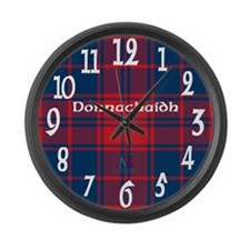 Donnachaidh Clan Large Wall Clock