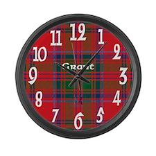 Grant Clan Large Wall Clock