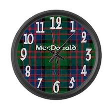 MacDonald Clan Large Wall Clock
