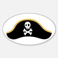 Pirate Hat Decal