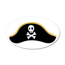 Pirate Hat Wall Decal