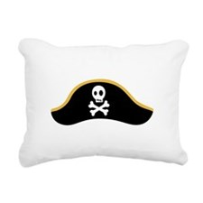Pirate Hat Rectangular Canvas Pillow