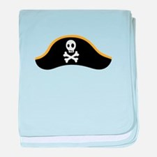 Pirate Hat baby blanket