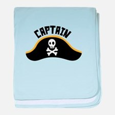 Captain baby blanket