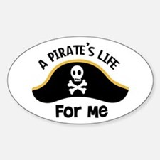 A Pirates Life For Me Decal