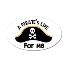 A Pirates Life For Me Wall Decal