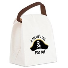 A Pirates Life For Me Canvas Lunch Bag