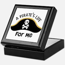 A Pirates Life For Me Keepsake Box