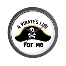 A Pirates Life For Me Wall Clock