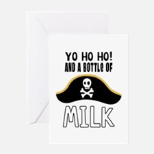 O! And A Bottle Of Milk Greeting Cards
