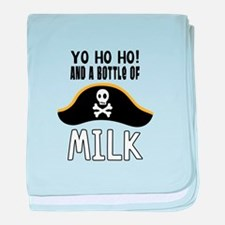 O! And A Bottle Of Milk baby blanket