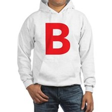 Letter B Red Hoodie
