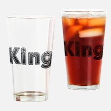 King Metal Drinking Glass