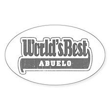 WB Grandpa [Spanish] Oval Decal