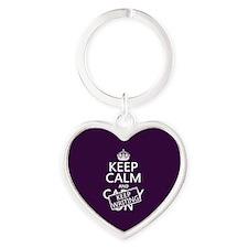 Keep Calm and Keep Writing Keychains