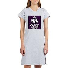 Keep Calm and Keep Writing Women's Nightshirt