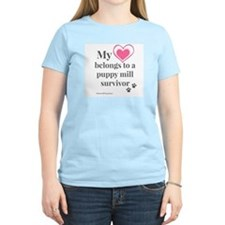 Heart - Puppy Mill Survivor T-Shirt