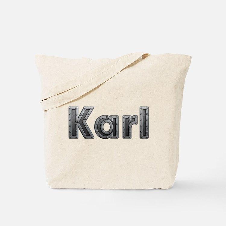 Karl Metal Tote Bag