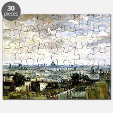 Van Gogh - Roofs of Paris Puzzle