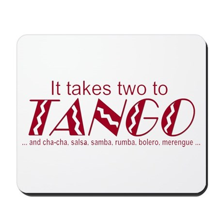 """Two to Tango"" Mousepad"