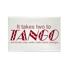 """""""Two to Tango"""" Rectangle Magnet"""