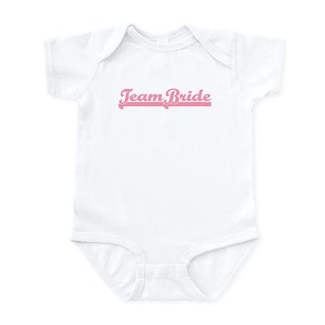 Pink Team Bride Infant Bodysuit