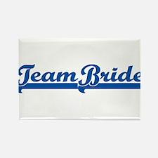Blue Team Bride Rectangle Magnet