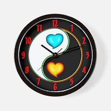 Love Yang Wall Clock