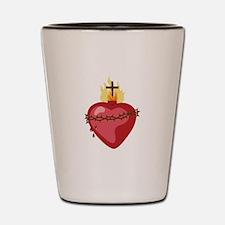 Sacred Heart Shot Glass