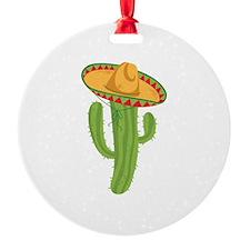 Sombrero Cactus Ornament