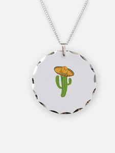 Sombrero Cactus Necklace